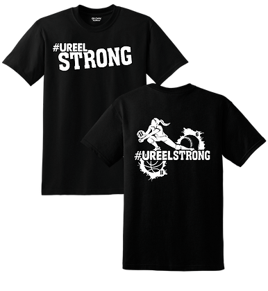 US- #UreelStrong- Youth T-Shirt (BW)
