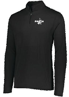 PHEA- 1/4 Zip- Black/White