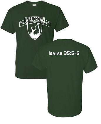 Crowe- Forest Green T-Shirt
