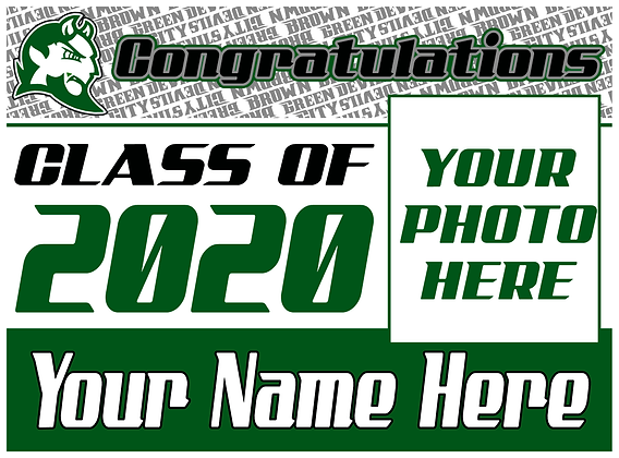 Brown City 2020 Grad- Photo