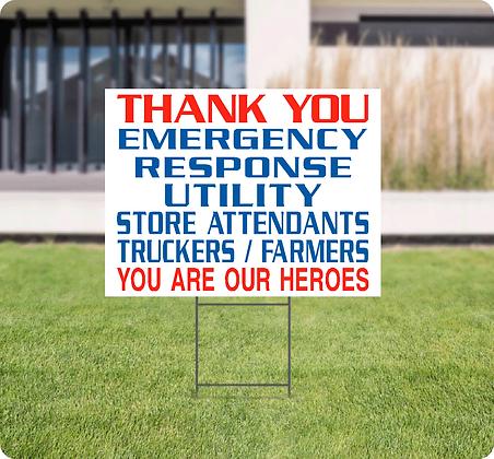 Thank you-Emergency/Utility