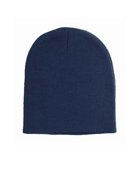 YS - Knit Beanie Cap Embroidered