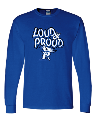 CL- Loud&Proud-Youth LS-Royal
