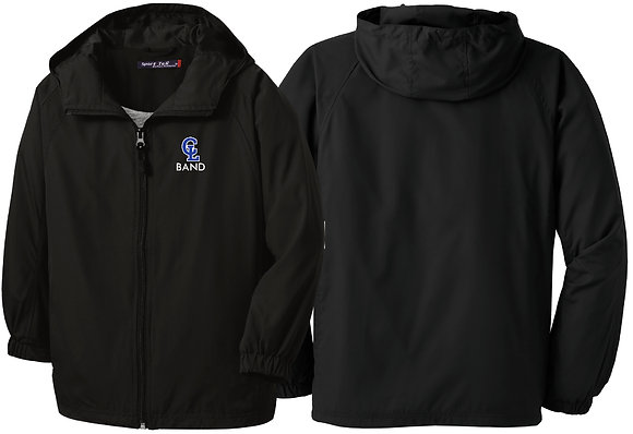 CLBandSW - Hooded Raglan Jacket