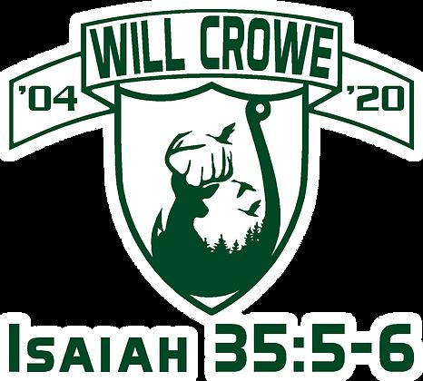 "Crowe- 5"" Decal"