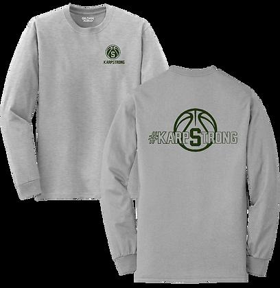 #KarpStrong- Sport Grey- Adult LS T-Shirt, 2x-3x