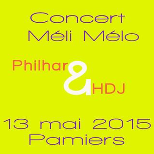 La Société Philharmonique de Pamiers invite l'Harmonie Départementale Junior de l'Ariège