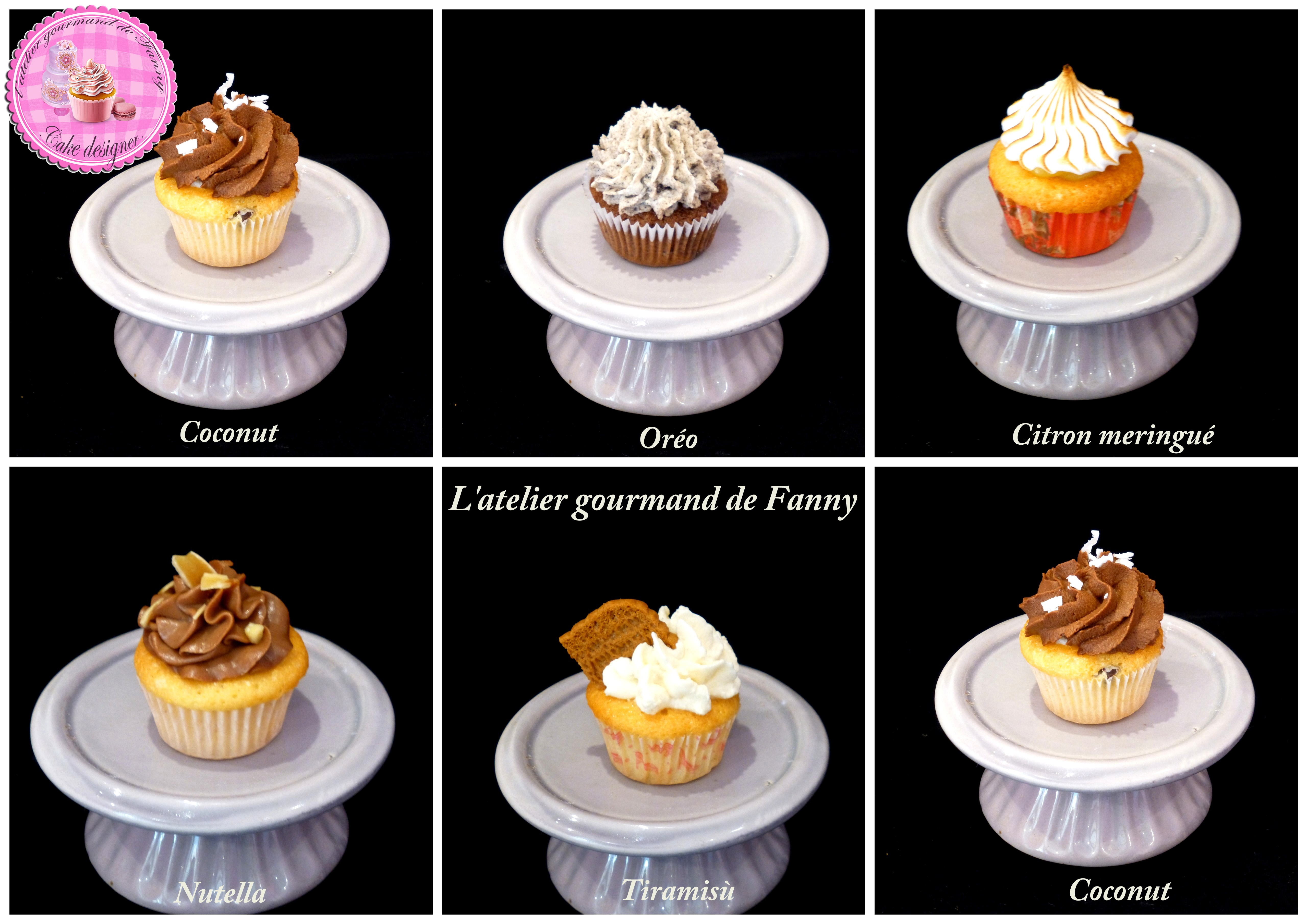 Assortiment minis cupcakes
