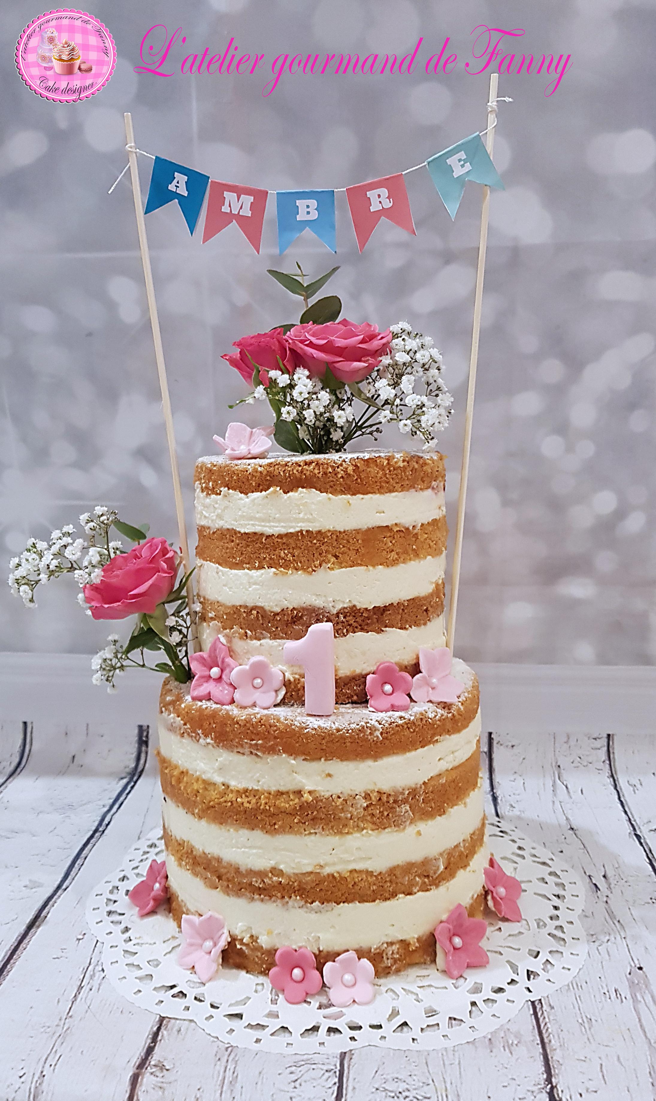 Nude cake 15 parts
