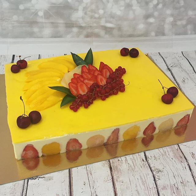 Entremet mangue fraise 🍓 poire #pastry