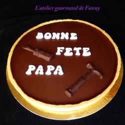 Tarte chocolat 8 parts 20€