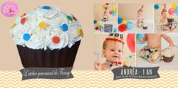 Cupcake geant Andrea