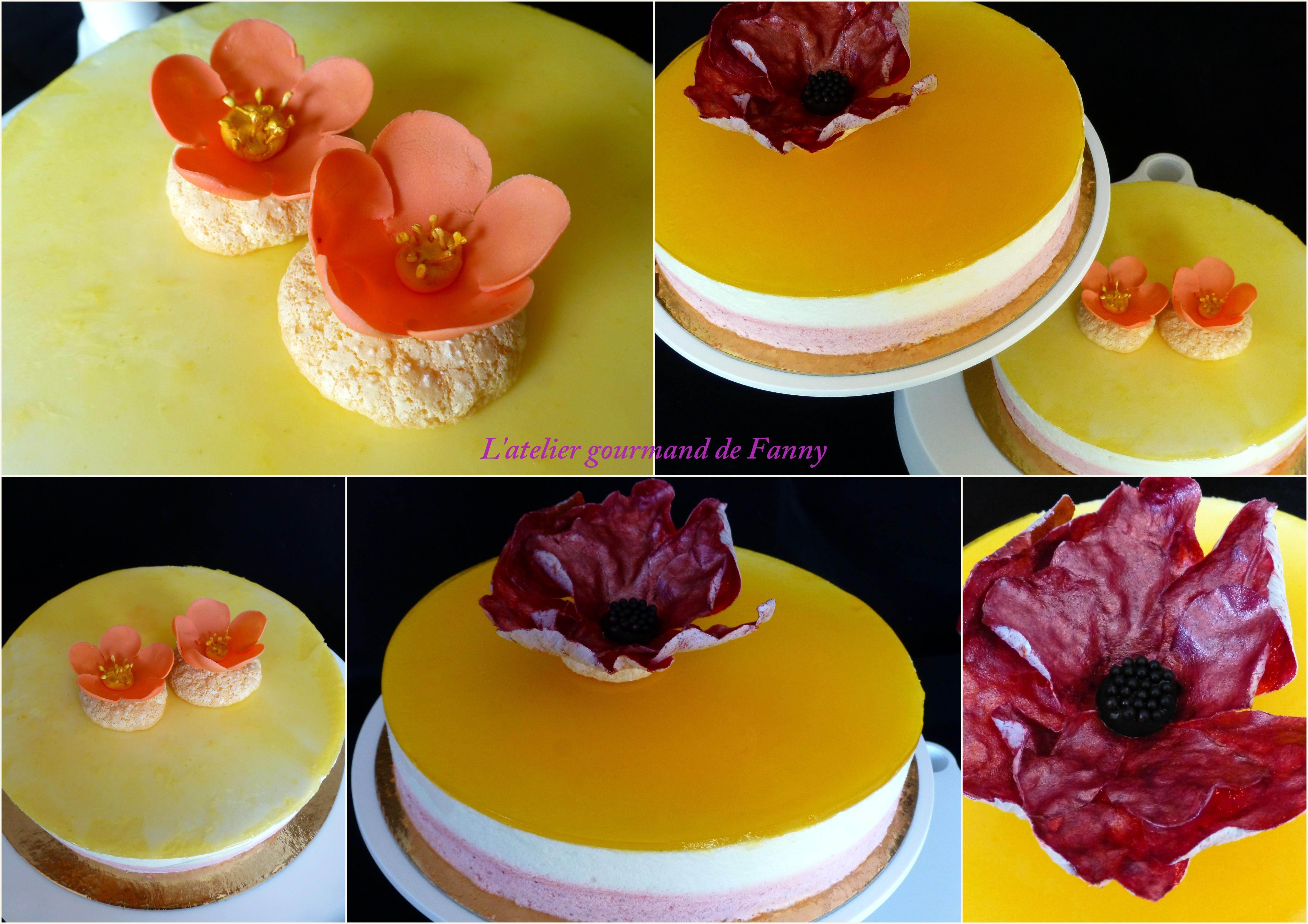 Bavarois citron fraise