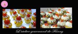 mini cupcake salé