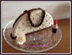 gâteau d'anniversaire sac à main