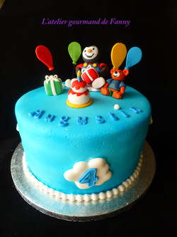 Gâteau d'anniversaire enfant
