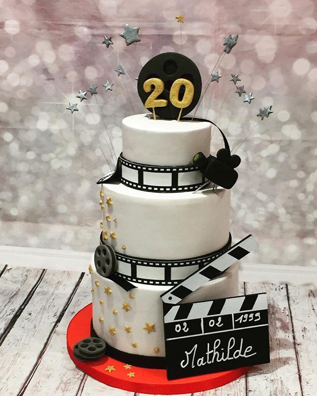 #cinemacake #cakedesign #pastry #birthda