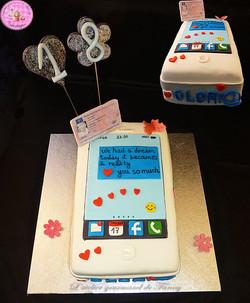 Gâteau d'anniversaire Iphone