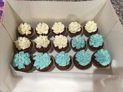 Minis Cupcakes colorés