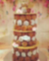 Croquembouche #pastry #provencewedding #