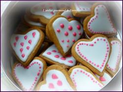 Sablés St Valentin