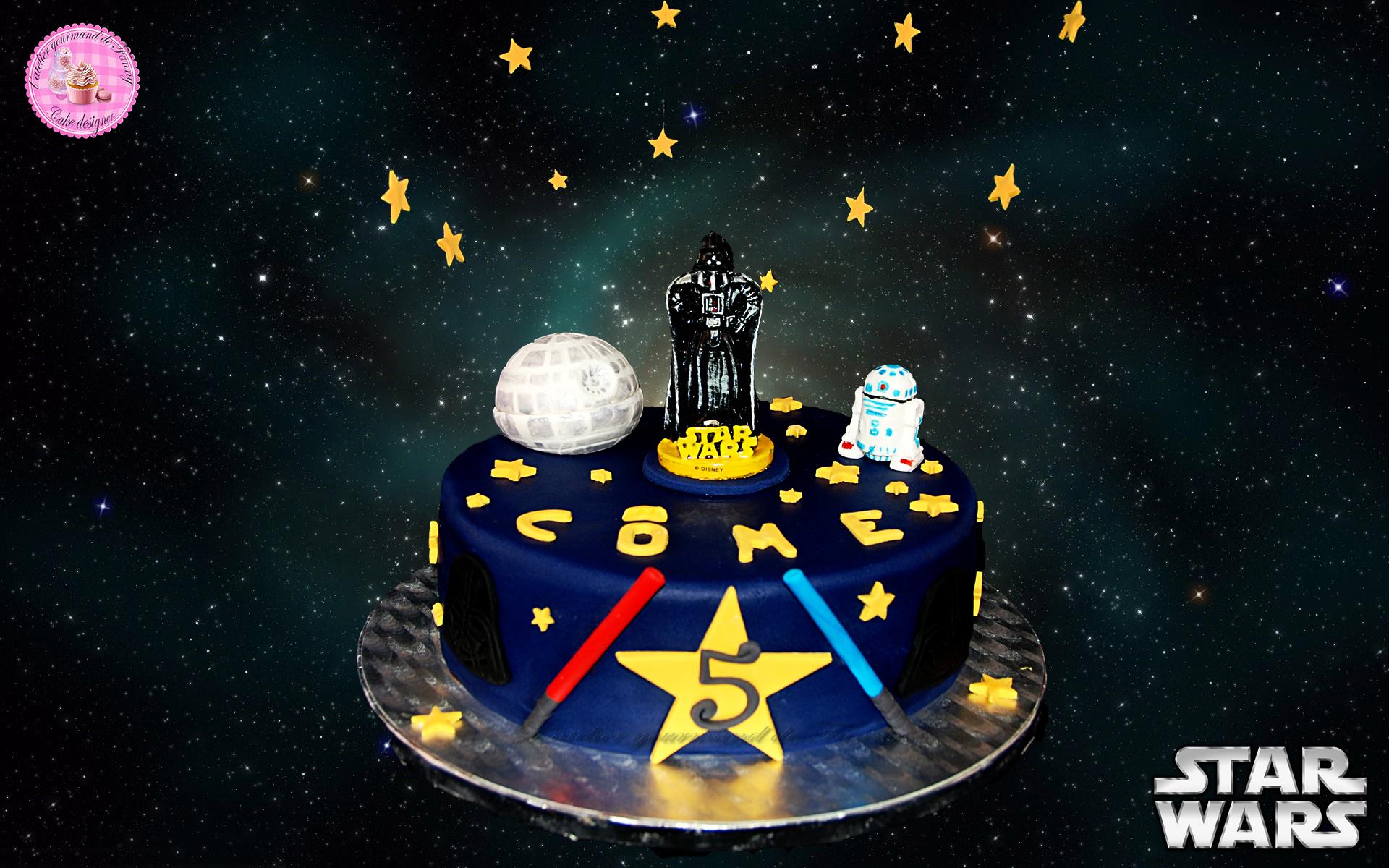 Gâteau d'anniversaire StarWars