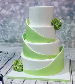 Wedding cake de septembre, mousse frambo