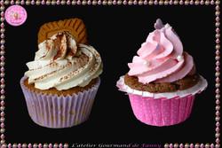 Cupcakes Tiramisu et framboise