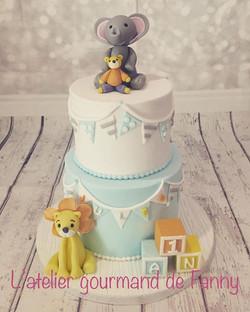 #firstbirthdaycake #birthdaycake #cakede