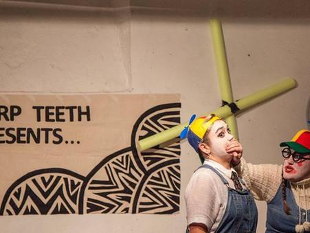 Sharp Teeth, Halloween Extravaganza!