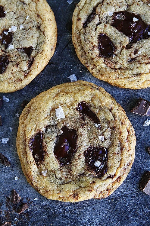 Salted Chocolate Chunk Cookie