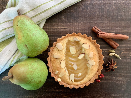 Pear and Almond Tart