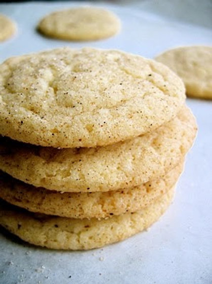 Cardamom Snickerdoodle Cookie