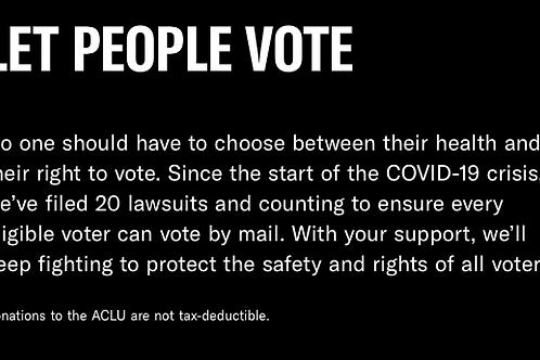 ACLU Donation