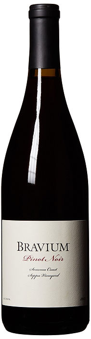 seppa pinot noir bravium wines, san francisco, sonoma county