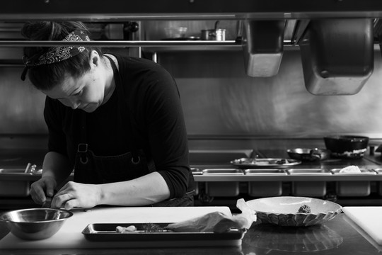 Nightbird, Chef Kim Alter