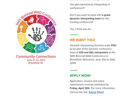 WAD Conference 2019