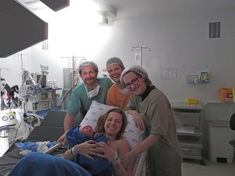 Dr. Edoardo, Yoseff e Tati.