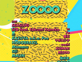 "2019.02.23 Sat""Zoooo"" @bar bonobo"