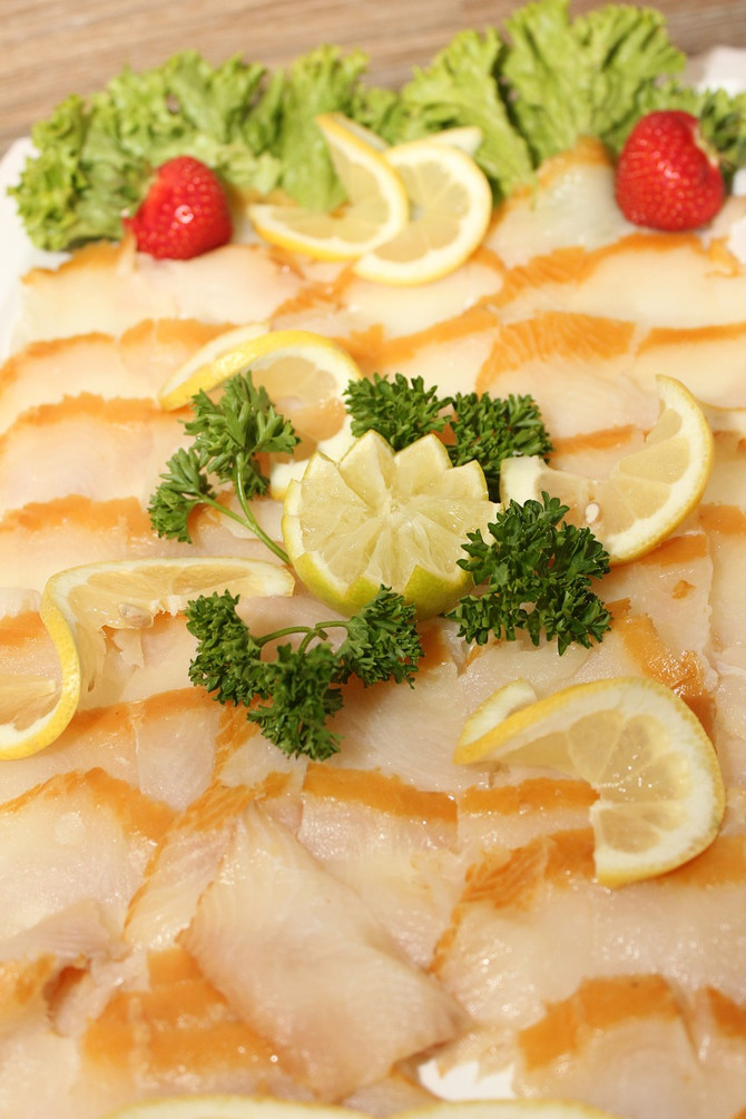 Tuscan Herb Halibut Steaks