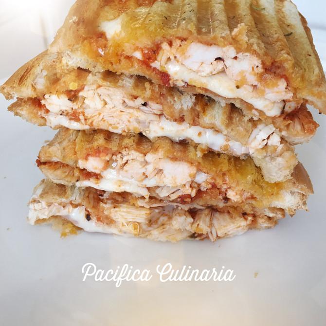Chicken Parmesan Paninis
