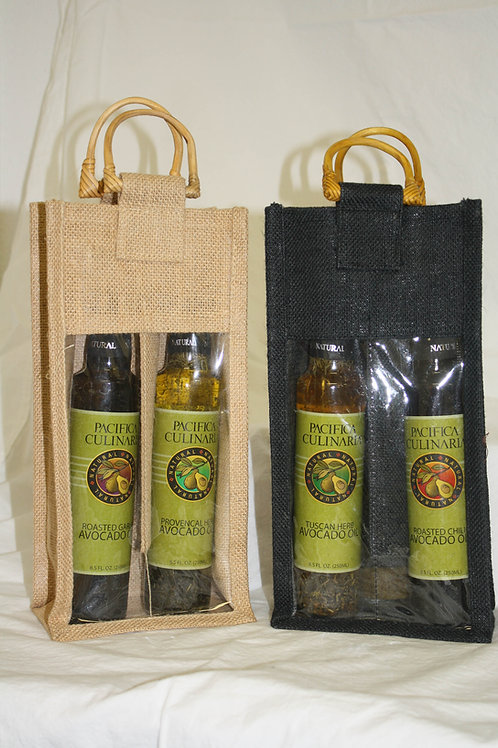 2 Bottle Gift Bag (8.5oz Bottles)