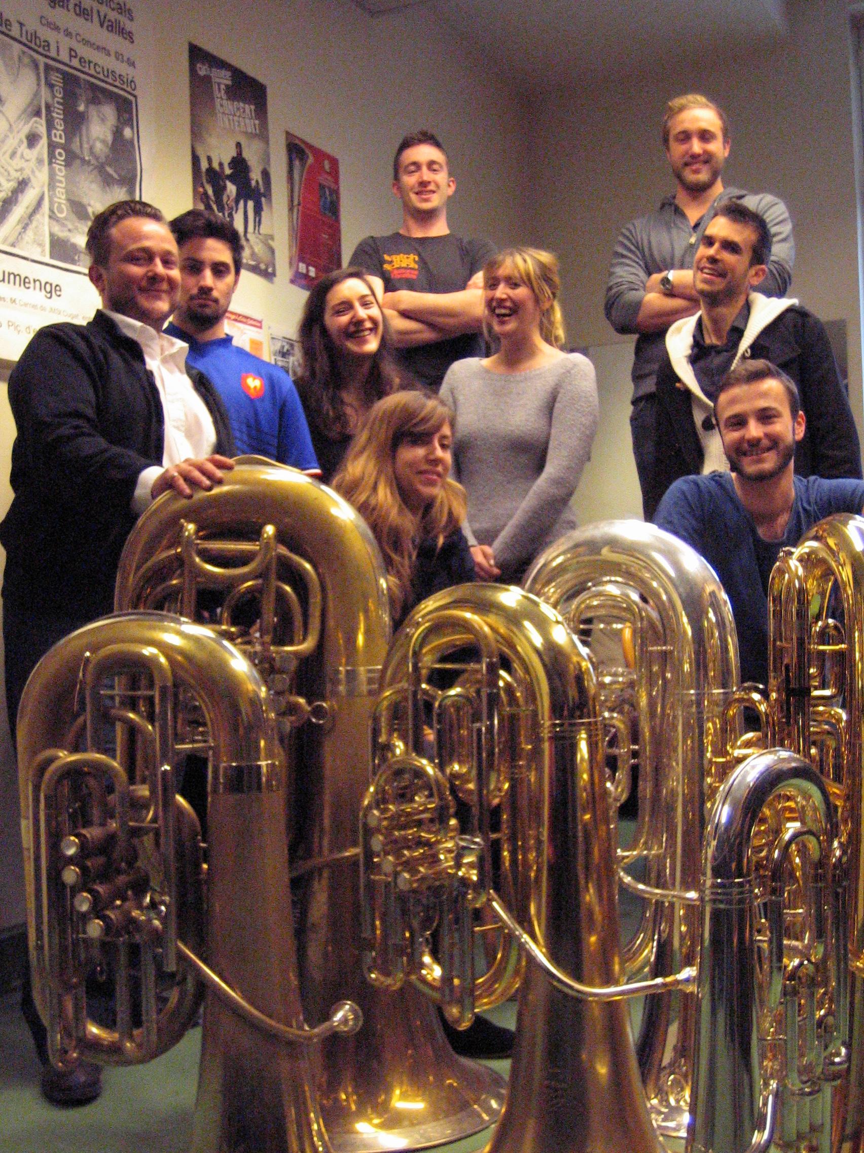 Janvier 2015 classe tuba.JPG