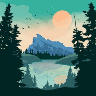 Banff Travel Poster (2017)