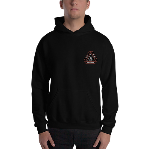A51 Black Logo Hoodie