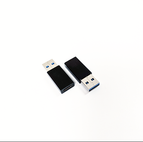 USB-C Female to USB A 3.0 Male Adapter (Set of 2)