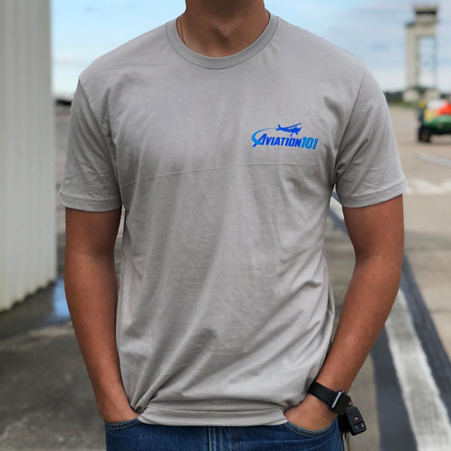 """Aviation 101"" Logo T-Shirt"