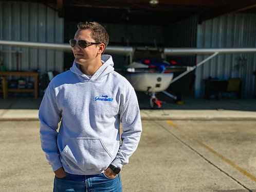 """Aviation101"" Logo Hoodie"