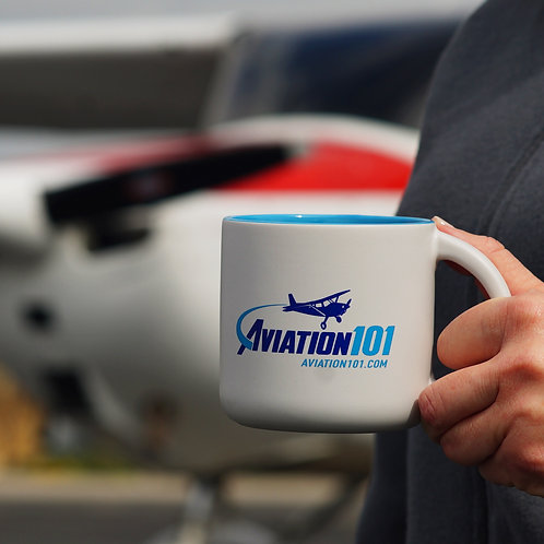 """Aviation101"" Logo Mug"