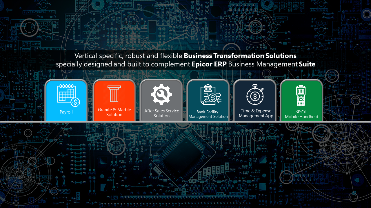 Vertical solutions for Epicor ERP